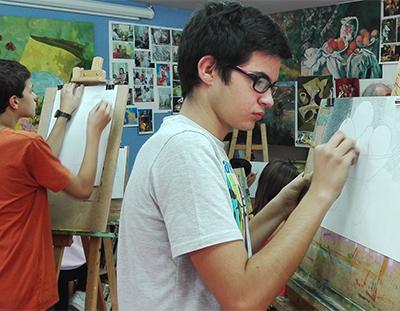 Taller arte adolescentes