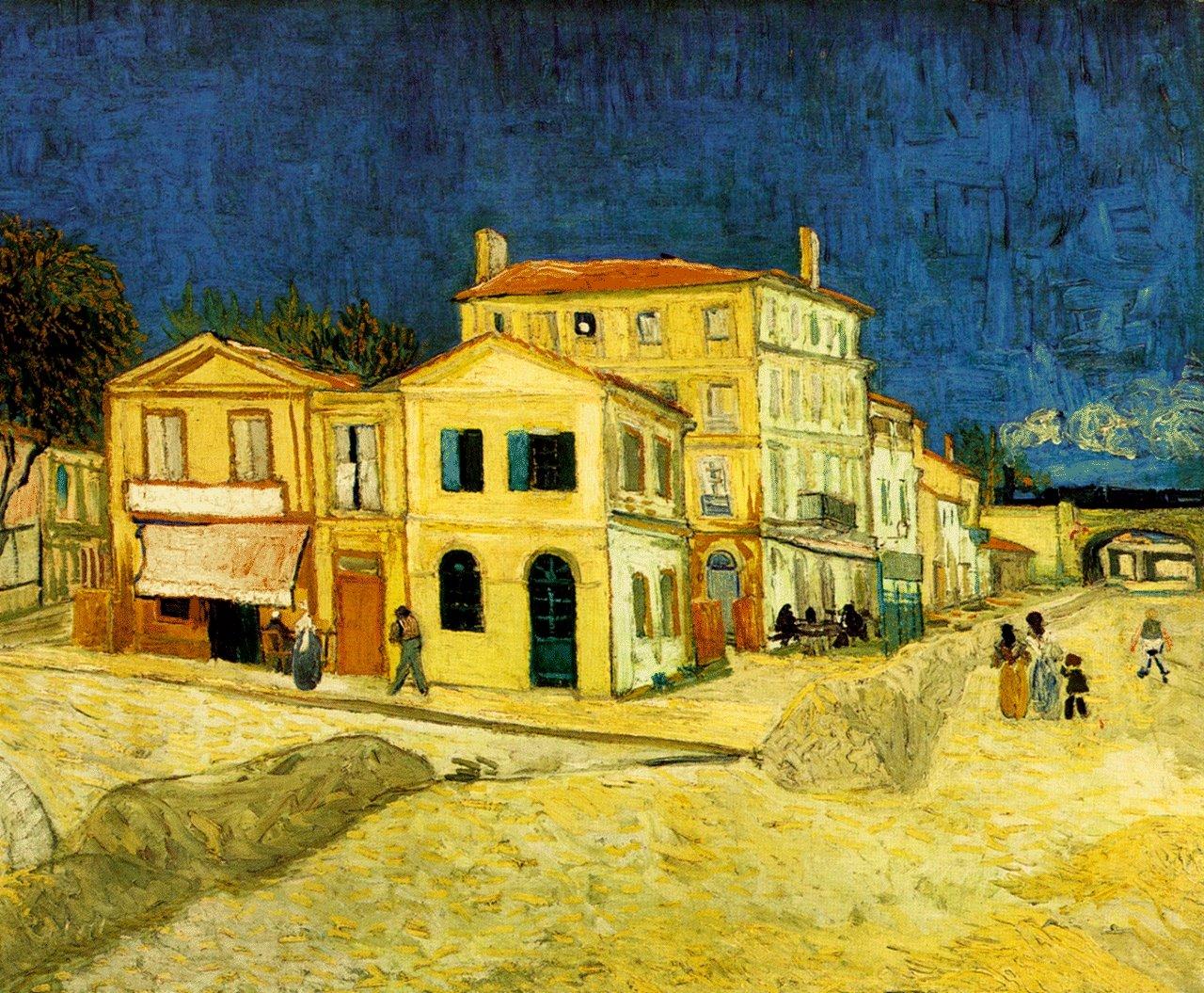 La Habitaci N De Van Gogh El Cuadrado Azul # Vang Gogh Muebles